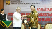 Menteri Basuki Sampaikan SPT Pajak Secara Elektronik