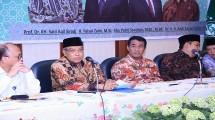 Mentan Andi Amran Nasution bersama Ketua PBNU KH Said Agil Siraj