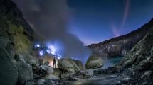Wisata Kawah Ijen (Blue Fire) di Banyuwangi (Foto: TripTrus)
