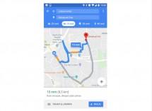 Tampilan fitur baru khusus rute sepeda motor di Google Maps. (Dok Industry.co.id)