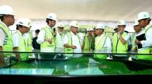 Menteri Basuki tinjau proyek bendungan