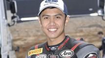 Ali Adriansyah Rusmiputro Yamaha YZF R3 di tim Pertamina Indonesia Racing Team (2013.europeanjuniorcup.com))