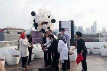 Peresmian Sixth On Rooftop bersama Dr. Ivan Sini pada hari Selasa (3/4/2018) kemarin. (Dina Astria/Industry.co.id)