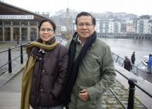 Dhitta Puti Sarasvati dan Rizal Ramli