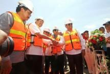 Menteri Rini Resmikan MV Dharma Lautan Intan Milik Djakarta Lloyd (Foto Dok. Djakarta Lloyd)