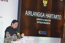 Menteri Perindustrian Airlangga Hartarto (Foto: Biro Humas)