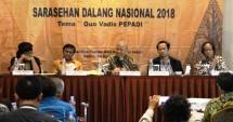 Sarasehan Dalang Nasional 2018 di Hotel Santika TMII, mencari solusi nasib Dalang