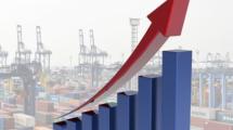 Ilustrasi Grafik Pertumbuhan Ekonomi
