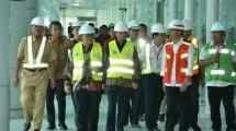 Presiden Jokowi tinjau Bandara Kertajati