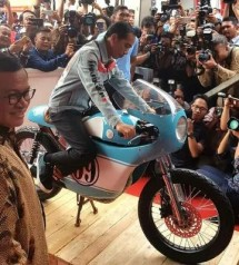 Presiden Jokowi membuka IIMS 2018 (Foto Dokk Industry.co.id)