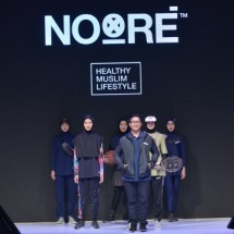 Noore, Busana Olahraga Muslimah (Foto Anisa)