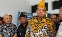 Menteri Perindustrian Airlangga Hartarto saat kunjungan kerja di KEK Palu (Foto:Ridwan/Industry.co.id)