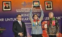 Wakil Gubernur DKI Jakarta Sandiaga Uno saat menghadiri Musyawarah Inkindo Provinsi DKI Jakarta