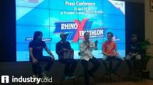 Konferensi pers Rhino X-Tri 2018 (Hariyanto/INDUSTRY.co.id)
