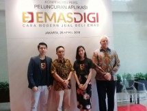 EmasDigi, layanan FinTech jual beli emas hadir di Indonesia (Foto Anisa)