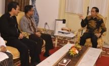 Presiden Jokowi dan Pimpinan PKS (Foto Dok Industry.co.id)