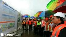 Menteri PUPR Meninjau Pembangunan Tol Cisumdawu