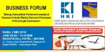 Business Forum HKI dan BP Batam (Foto: Dok. Industry.co.id)