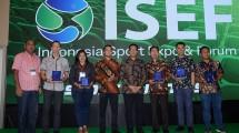 Pameran Indonesia Sport Expo and Forum (ISEF) 2018 yang berlangsung pada tanggal 2-6 Mei 2018 di Indonesia Convention Exhibition (ICE) BSD City, Tangerang