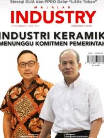 """Majalah Industry Edisi Mei 2018 """"Industri Keramik Menunggu Komitmen Pemerintah"""""""