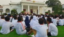 Combantrin bersama LPAI dan Kemensos mengajak 500 anak bermain di Istana Merdeka bersama Presiden Jokowi