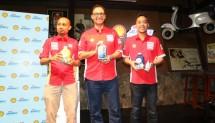 Peluncuran rangkaian pelumas mesin motor skutik ini dilakukan oleh Mario Viarengo, VP Marketing Lubricants PT Shell Indonesia didampingi oleh Edward Satrio, VP Consumer Brand Helix & Advance PT Shell Indonesia dan Shofwatuzzaki (Zaki)