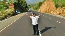 Menteri Basuki di jalur Pansela