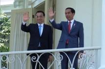 Presiden Jokowi dan PM RRT Li Keqiang (Foto Setkab)