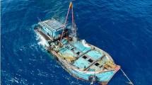 Ilustrasi Kapal Tenggelam (Handout/Getty Images)
