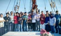 Deputi Bidang Koordinasi Sumber Daya Alam dan Jasa Kemenko Bidang Kemaritiman Agung Kuswandono saat kunjungan kerja di Makassar