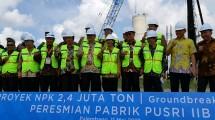 Pencanangan pabrik NPK