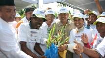 Menteri BUMN Rini M. Soemarno mengunjungi Pabrik Gula (PG) Gempolkrep