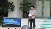 Menteri Pertanian Amran Andi Sulaiman di acara satu padu