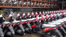 Industri Sepeda Motor (Ilustrasi)