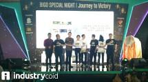 Peluncuran Cube TV (Hariyanto/ INDUSTRY.co.id)