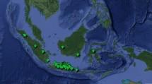 Ilustrasi Peta Sebaran Desa Unicorn