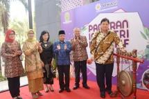Menteri Perindustrian Airlangga Hartarto saat membuka Pameran Industri Kreatif Bantul (Foto: Dok. Industry.co.id)
