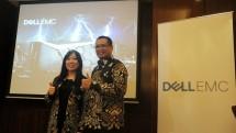 Catherine Lian, Managing Director Dell EMC Indonesia saat jumpa pers pada Selasa (22/5) di Hotel Mandarin Oriental, Jakarta. (Dina Astria/Industry.co.id)