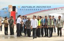 Presiden Jokowi resmikan bandara Kertajati (Foto Setkab)