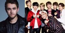 Zedd dan BTS (Foto : Allkpop)