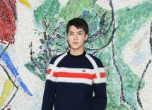 Sehun di Fashion Show Louis Vuitton (Foto : Vogue)