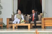 Presiden Jokowi dan PM India Narendra Modi (Foto: Jay/Humas)