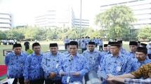 Mentan Amran Andi Sulaiman di upacara Pancasila