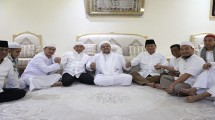 Amien Rais, Habieb Rizieq dan Prabowo Subianto di Mekkah