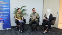 Vincentius Wilianto, Direktur AXA Financial Indonesia dan Benny Waworuntu Chief Corporate Affairs Officer AXA (Foto : Anisa Triyuli)