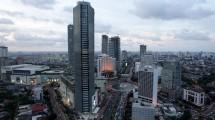 Ilustrasi Perkantoran di Kawasan Pusat Bisnis Jakarta (Central Business District/CBD) (Bloomberg/Getty Images)