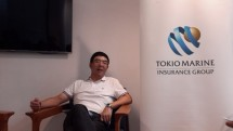 Chief Marketing Officer Tokio Marine Insurance, Sudyawi Sahlan, usai acara Media Gathering Tokio Life Insurance Indonesia dan YKAI di Kantorkuu, Agro Plaza, Jl. HR. Rasuna Said, Kuningan Jakarta Selatan, Kamis (7/6/2018),