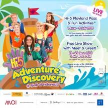 Vocal group Hi-5 akan tampil di Mall of Indonesia