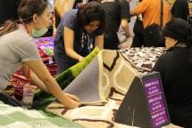 Kondisi perbelanjaan di Jakarta Fair 2018