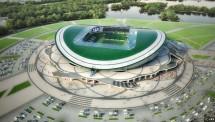 Stadion Kazan Arena, stadion yang terletak di Kota Kazan ini merupakan salah satu stadion terbaru di Rusia.stadion berkapasitas 45.000 penonton ini adalah bentuknya yang menyerupai bunga teratai bila dilihat dari atas